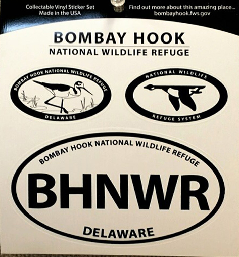 Bombay Hook NWR Oval Decals